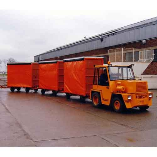 Industrial Trailer Range available