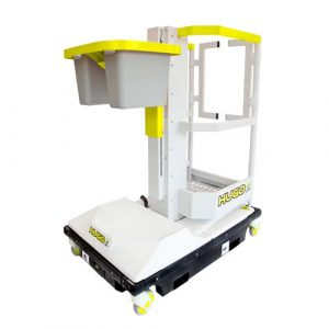 Hugo lift lightweight push-around access platform