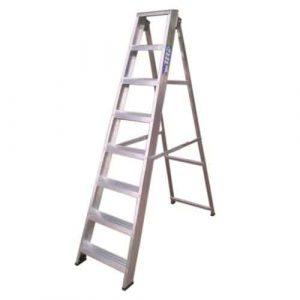 Pinnacle Industrial Swingback Step Ladders