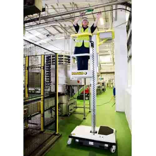 push-around vertical mast lift