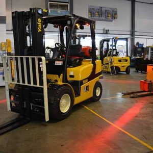 Yale GLP25VX used Forklift Truck for sale