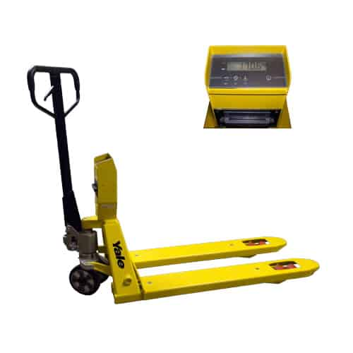 Yale Weight Scales Hand Pallet Truck for sale